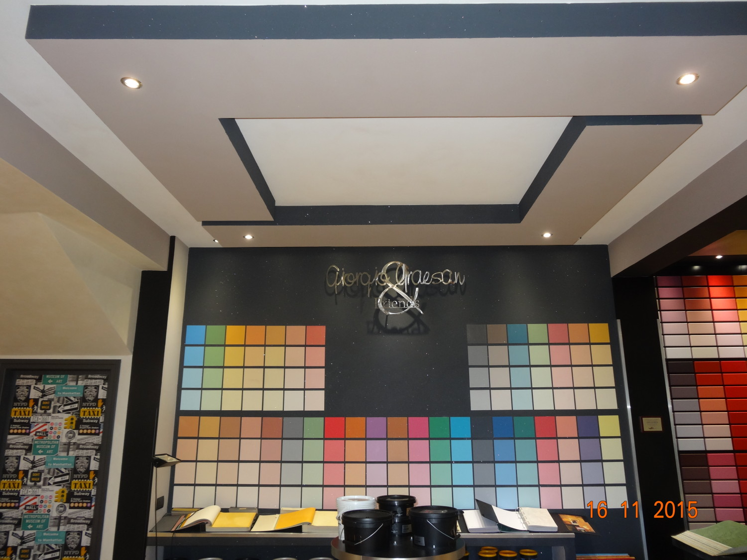 punto colore 98 showroom Pomezia